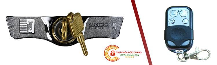 Các loại chìa khóa cửa cuốn