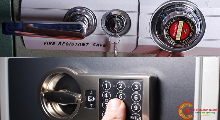 Chuyển đổi từ ổ khóa cơ sang ổ khóa điện tử
