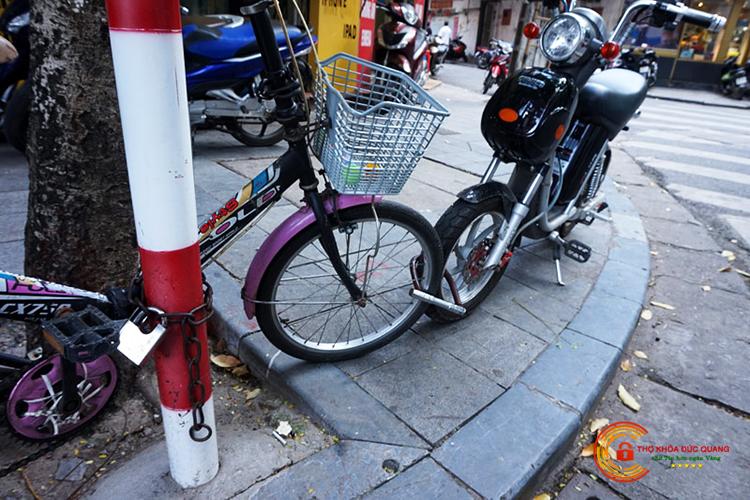 Đức Quang nhận sửa khóa, mở khóa xe đạp điện mọi lúc, mọi nơi