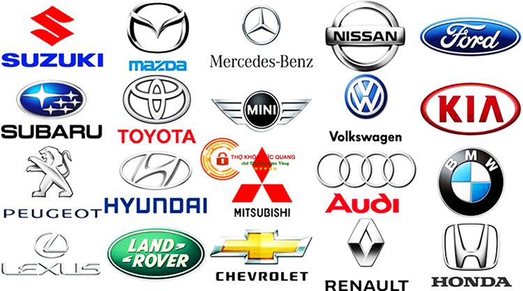 Đức Quang nhận sửa khóa ô tô của tất cả các hãng