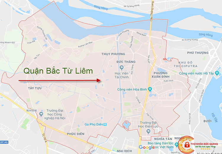 Đức Quang nhận sửa khóa tại nhà quận Bắc Từ Liêm