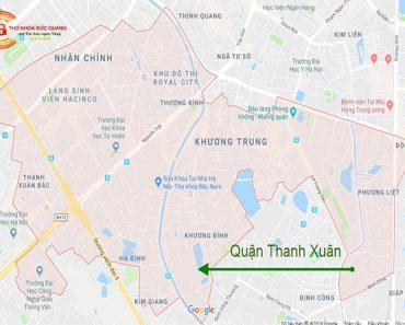 Đức Quang nhận sửa khóa tại nhà quận Thanh Xuân