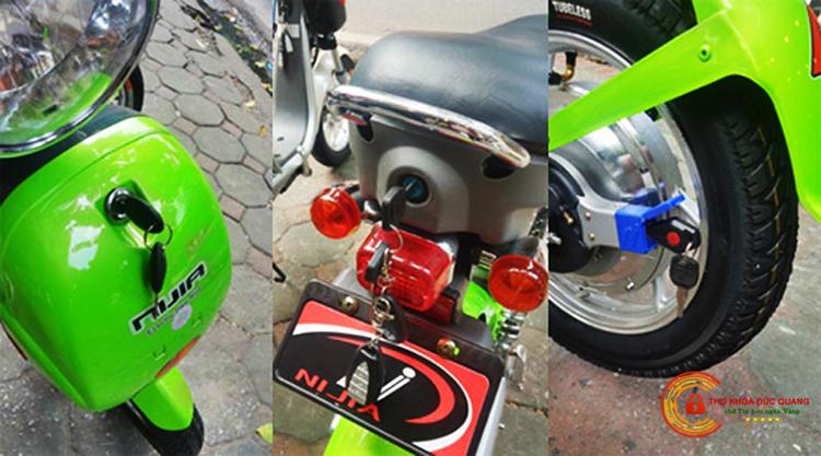 Đức Quang nhận thay ổ khóa xe đạp điện hàng chuẩn chính hãng