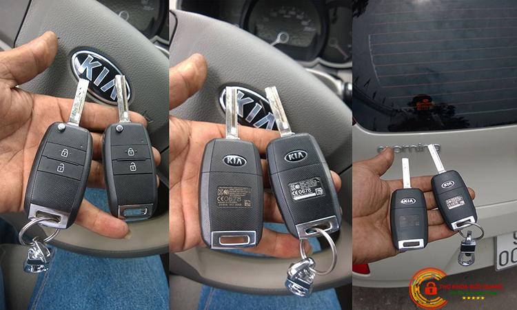 Làm chìa khóa remote cho xe ô tô bản thiếu, xe tải bản thường