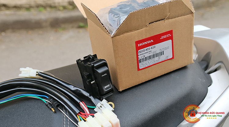 Độ ổ khóa chống trộm thông minh Smartkey cho xe máy tại Hải Dương