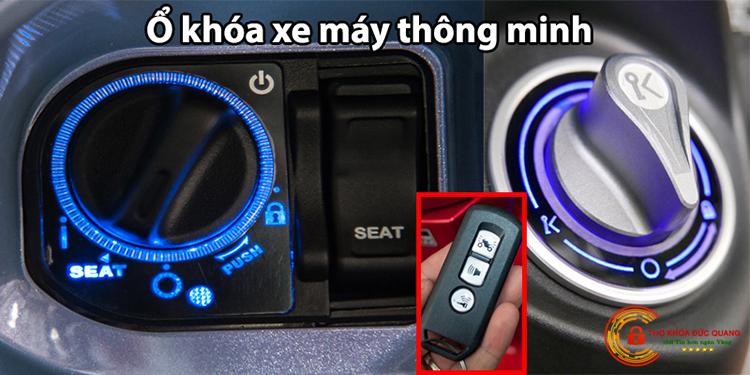 Ổ khóa xe máy thông minh (Smartkey)