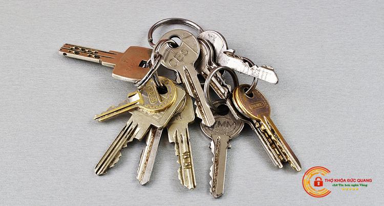 Quá nhiều chìa khóa con sẽ khiến việc quản lý trở nên khó khăn