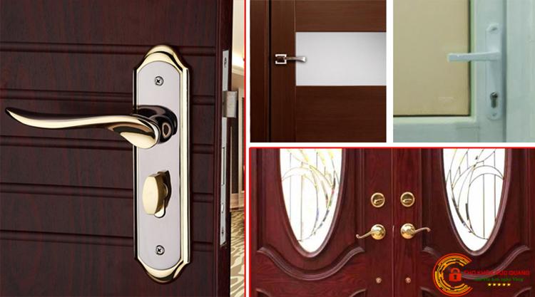 Sửa khóa cửa tay gạt tại nhà