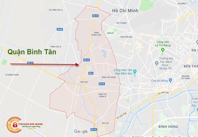 Sửa khóa tại nhà quận Bình Tân