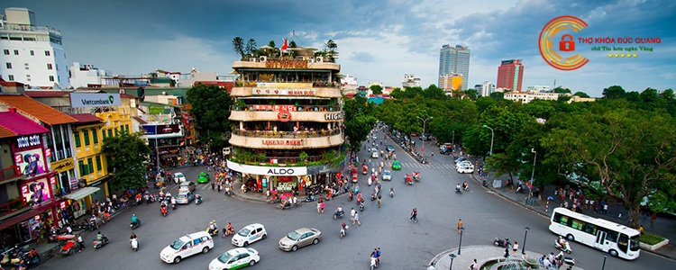 Thợ sửa khóa phục vụ tại 18 phường thuộc quận Hoàn Kiếm