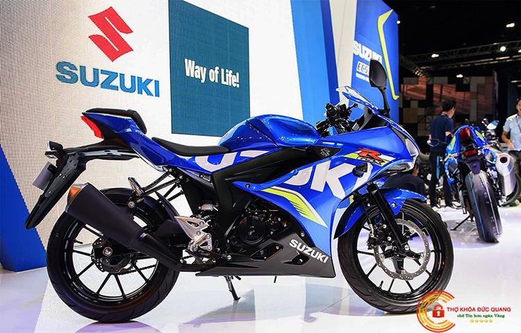 Sửa khóa xe máy Suzuki tại nhà