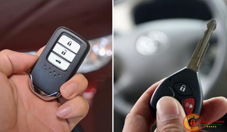 Dịch vụ thay PIN - Vỏ chìa khóa ô tô tại quận Cầu Giấy