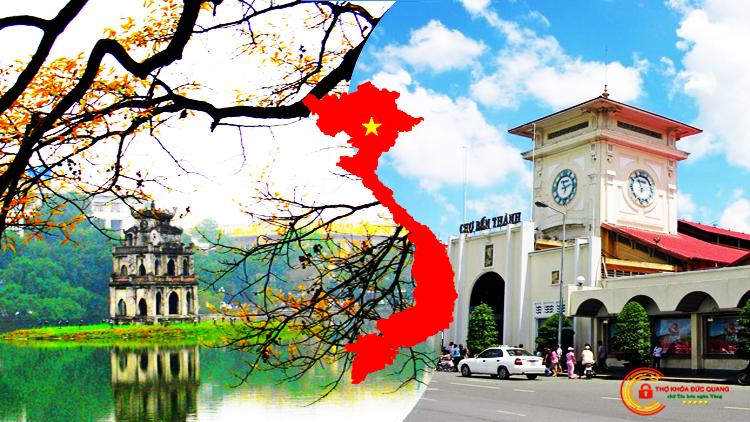 Đức Quang nhận sửa khóa cửa gỗ tại nhà Hà Nội và TPHCM