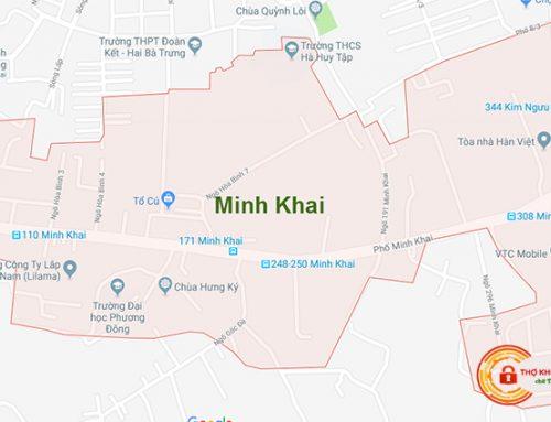 Sửa Khóa Tại Nhà Minh Khai【 KM 30% + Có Bảo Hành 】
