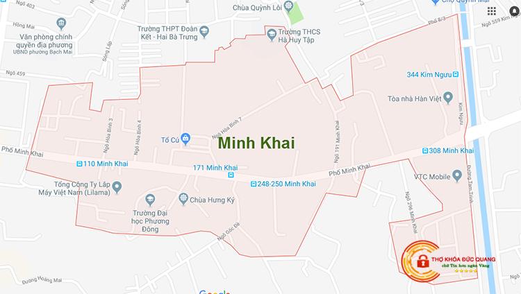 Sửa khóa tại nhà Minh Khai