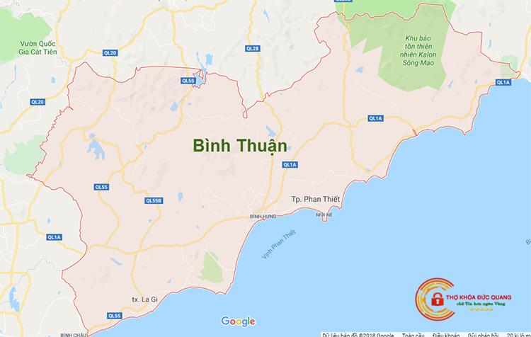 Sửa khóa tại nhà Bình Thuận