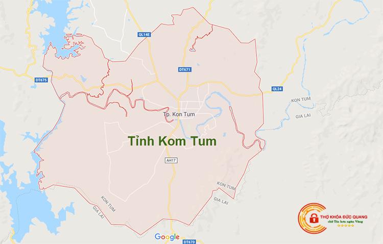 Sửa khóa tại nhà Kom Tum