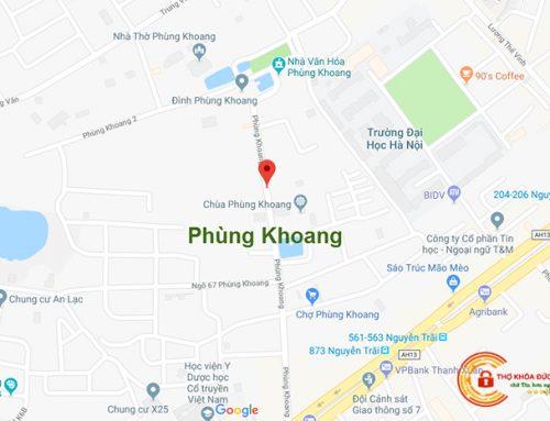 Sửa Khóa Tại Nhà Phùng Khoang【Giá Từ 99K + KM 25%】