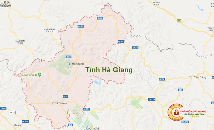 Sửa khóa tại nhà tỉnh Hà Giang