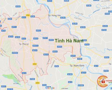 Sửa khóa tại nhà tỉnh Hà Nam