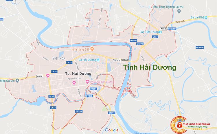 Sửa khóa tại nhà tỉnh Hải Dương