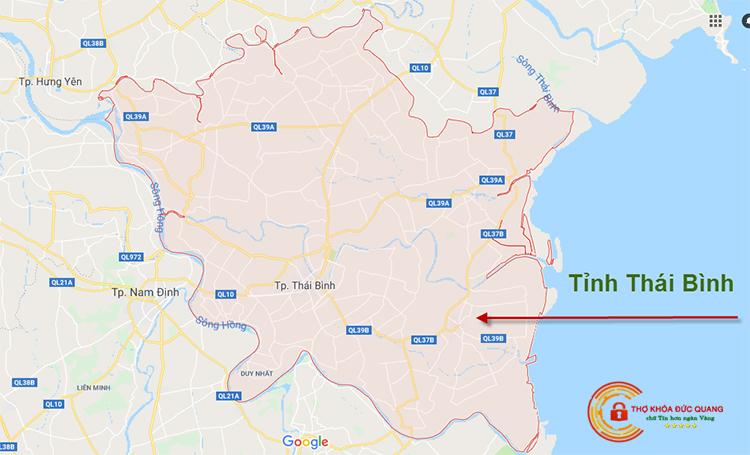 Sửa khóa tại nhà tỉnh Thái Bình