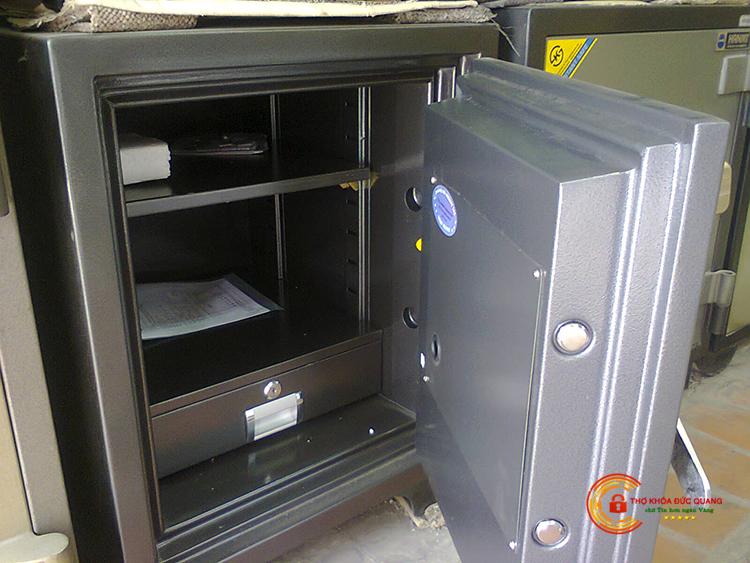 Cấu tạo két sắt - phần khung vỏ bên ngoài