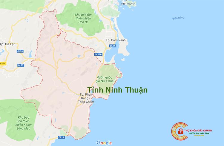 Sửa khóa tại nhà Ninh Thuận