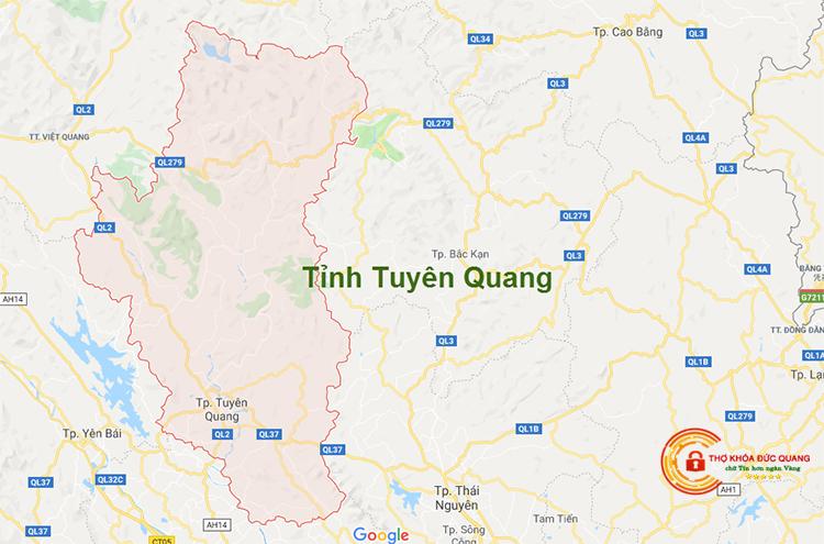 Sửa khóa tại nhà Tuyên Quang