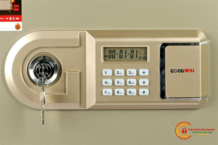 Cách mở két sắt điện tử PIN trong khi quên mã