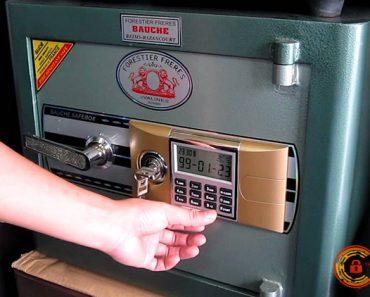 Cách mở khóa két sắt khi quên mã số