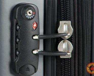 Cách mở khóa vali khi quên mật mã