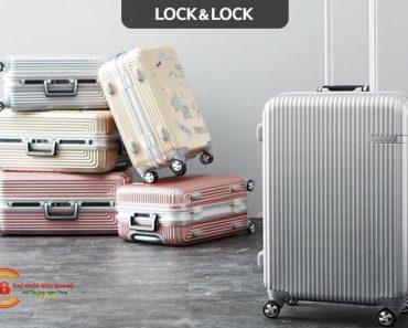 Cách mở khóa vali Lock and Lock