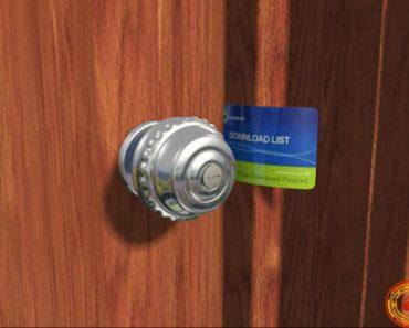 Cách mở ổ khóa tròn khi mất chìa