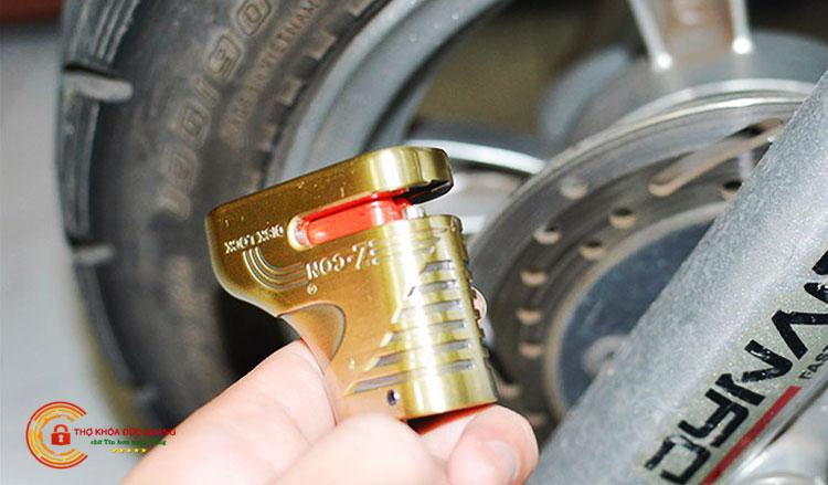 Ưu điểm của khóa phanh đĩa xe máy