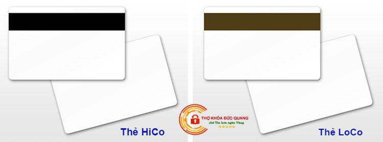 Phôi thẻ HiCo và LoCo