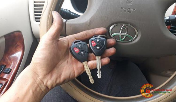 Làm chìa khóa ô tô tại Hải Phòng