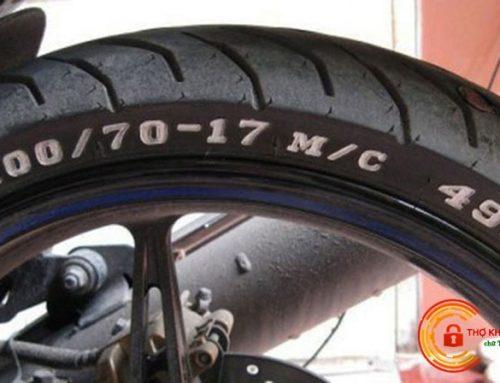 Hướng dẫn cách đọc thông số lốp xe máy chi tiết, dễ hiểu nhất