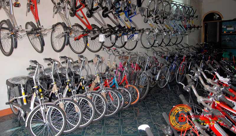 Nằm mơ thấy cửa hàng đầy xe đạp