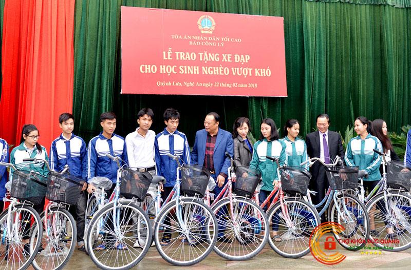 Nằm mơ thấy được tặng xe đạp