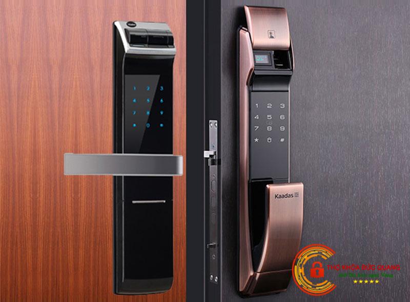 Ổ khóa điện tử dành cho cửa gỗ