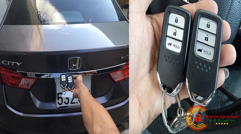 Chìa Khoá Xe Honda