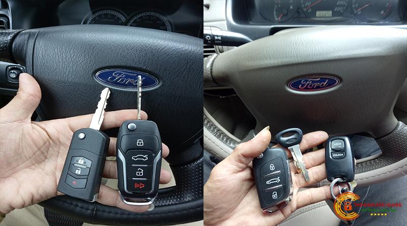 Chìa khoá xe ford