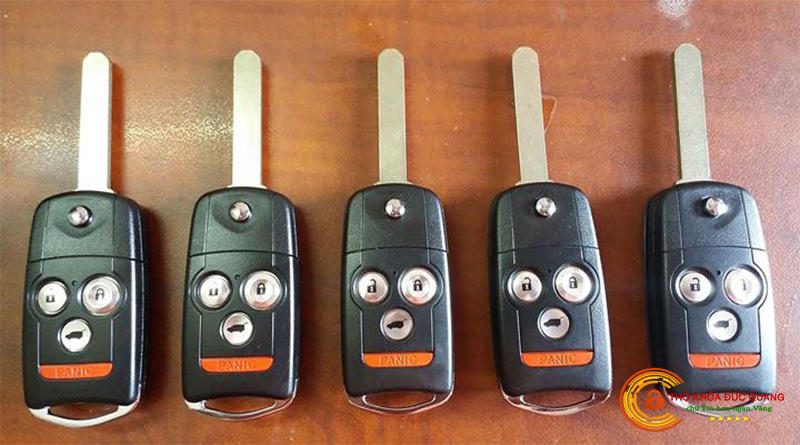 Chìa khoá xe Acura