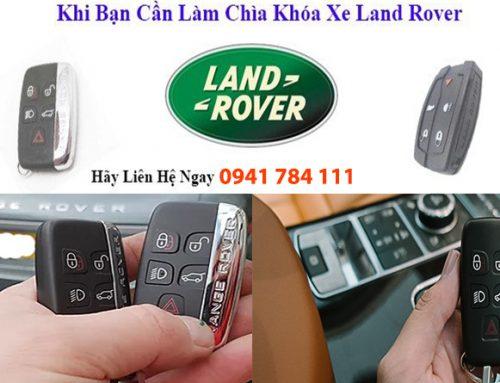 Làm Chìa Khóa Xe Land Rover Tận Nơi – Giá Tốt – Chìa Hãng