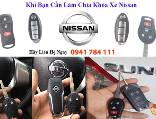 Làm Chìa Khóa Xe Nissan Tận Nơi – Giá Tốt – Chìa Hãng