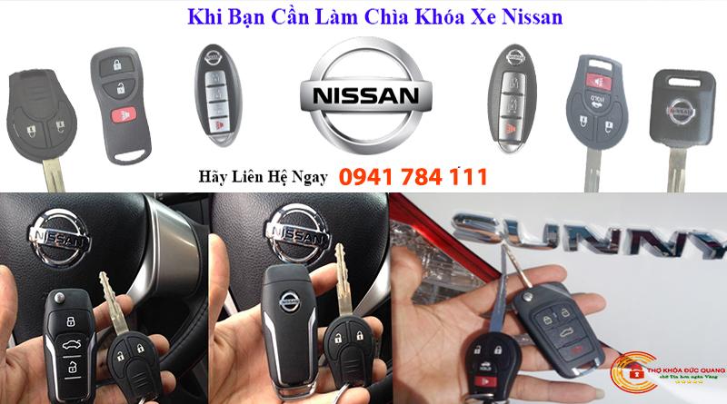 Làm Chìa Khóa Xe Nissan