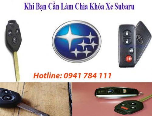 Làm Chìa Khóa Xe Subaru Tận Nơi – Giá Tốt – Chìa Hãng
