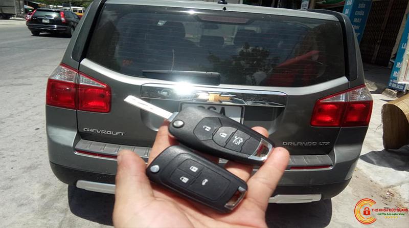 Chìa Khoá Chevrolet